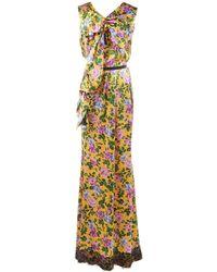 Nina Ricci - Maxi vestido de Seda - Lyst