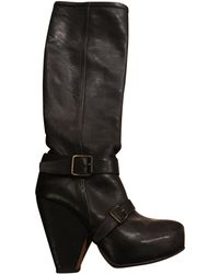Vanessa Bruno - Brown Leather Boots - Lyst