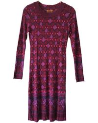 Tory Burch - Pre-owned Silk Mid-length Dress - Lyst