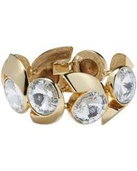 Lanvin - Pre-owned Gold Metal Bracelet - Lyst