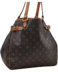 Louis Vuitton - Leinen Handtaschen - Lyst