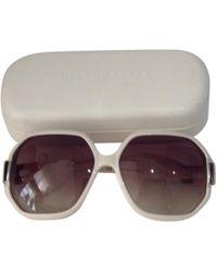 Marc By Marc Jacobs - Beige Plastic Sunglasses - Lyst