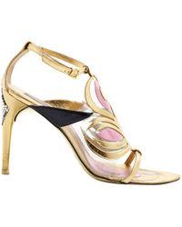 Pre-owned - Leather sandals Emilio Pucci q0PFC