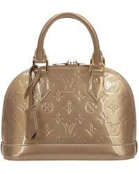 Louis Vuitton - Alma Patent Leather Handbag - Lyst