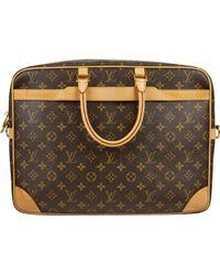 3d54abab57a5 Lyst - Louis Vuitton Lv Cite Gm Shoulder Bag Monogram M51181 Brown ...