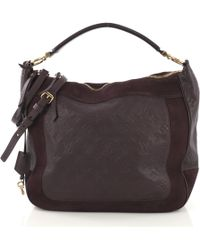 a3e59fa9e9ac Louis Vuitton Pre-owned Leather Crossbody Bag in Purple - Lyst