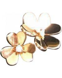 Van Cleef & Arpels - Pre-owned Fleurs Yellow Gold Ring - Lyst
