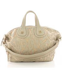 Givenchy - Nightingale Brown Leather Handbag - Lyst