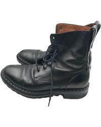 Givenchy - Black Leather Boot - Lyst