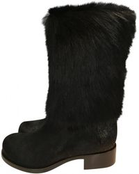 Chanel - Pre-owned Pony-style Calfskin Boots - Lyst