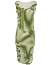 Jean Paul Gaultier - Pre-owned Vintage Other Cotton - Elasthane Dresses - Lyst