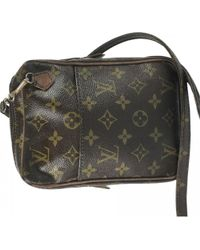 Louis Vuitton - Pre-owned Danube Cloth Crossbody Bag - Lyst