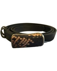 Zadig & Voltaire - Black Leather Belts - Lyst