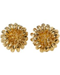 Tiffany & Co. - Vintage Yellow Yellow Gold Earrings - Lyst