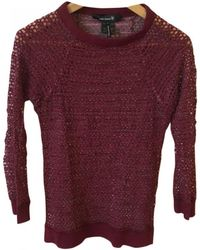 Isabel Marant - Pre-owned Burgundy Cotton Top - Lyst