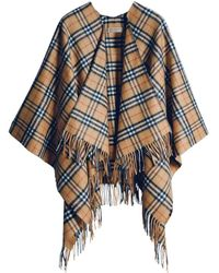 Burberry - Pre-owned Camel Cashmere Jackets - Lyst
