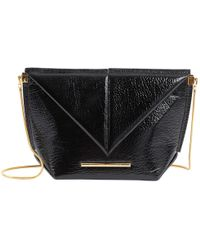 Roland Mouret - Patent Leather Handbag - Lyst