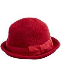 Marc Jacobs - Red Wool Hats - Lyst