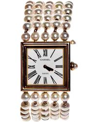 Chanel | Pre-owned Mademoiselle Yellow Gold Watch | Lyst