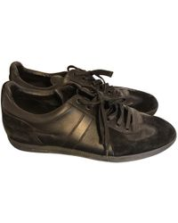 Dior - Leather Low Trainers - Lyst