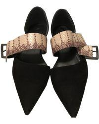 Jil Sander - Leather Ballet Flats - Lyst