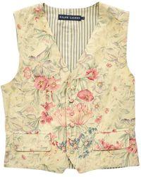 Ralph Lauren Collection - Multicolour Cotton Top - Lyst