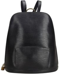 6f5253c45764 Louis Vuitton - Vintage Gobelins Vintage Black Leather Backpacks - Lyst