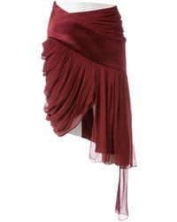 Prabal Gurung - Burgundy Silk - Lyst