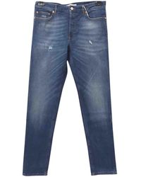 Givenchy - Blue Cotton - Elasthane Jeans - Lyst