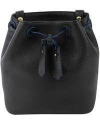 e8c8eb29ebfa Sandro - Black Leather Handbag - Lyst