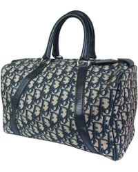 Dior - Pre-owned Cloth Bowling Bag - Lyst