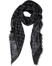 Louis Vuitton - Silk Scarf - Lyst