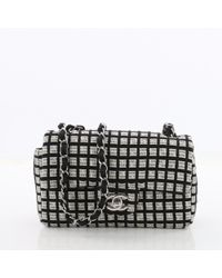 Chanel - Pre-owned Timeless Multicolour Tweed Handbags - Lyst