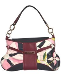 Emilio Pucci - Multicolour Leather Clutch Bag - Lyst