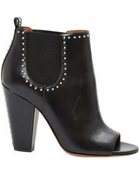 Givenchy - Pre-owned Leather Ankle Boots - Lyst