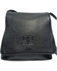 Courreges - Leather Crossbody Bag - Lyst
