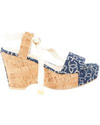Chanel - Cloth Sandal - Lyst