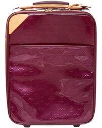 Louis Vuitton - Pegase Purple Patent Leather - Lyst
