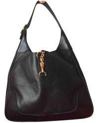 Hermès - Pre-owned Trim Leather Handbag - Lyst