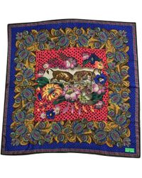 Christian Lacroix - Pre-owned Multicolour Silk Silk Handkerchief - Lyst