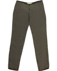 Stella McCartney - Black Viscose Trousers - Lyst