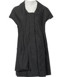 Marni - Anthracite Cotton Dress - Lyst