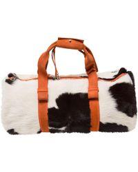 Bottega Veneta - Pre-owned Pony-style Calfskin Travel Bag - Lyst