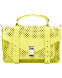 Proenza Schouler - Pre-owned Ps1 Tiny Leather Crossbody Bag - Lyst