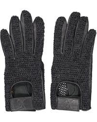 Louis Vuitton - Grey Wool Gloves - Lyst