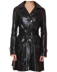 Philipp Plein - Leather Coat - Lyst