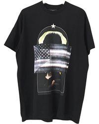 Givenchy - Black Cotton T-shirts - Lyst
