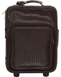 Bottega Veneta - Pre-owned Leather Travel Bag - Lyst