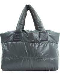 fb2b6ac1f3ea Chanel - Coco Cocoon Grey Synthetic Handbag - Lyst