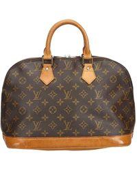 Louis Vuitton - Alma Brown Cloth - Lyst